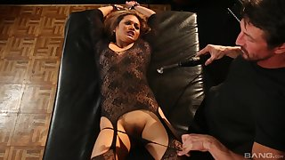 Lana Violet gets fucked by hard friend's penis while she moans