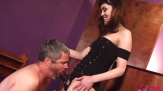 Audrey Noir is ready for revange and hard kinky sex with old friend