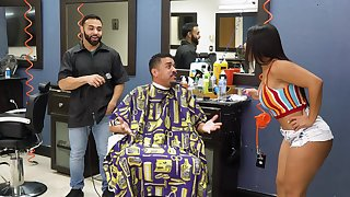 Electrifying barber shop think the world of for attentive Rose Monroe